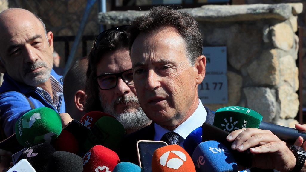 El periodista y amigo de la familia, Matías Prats