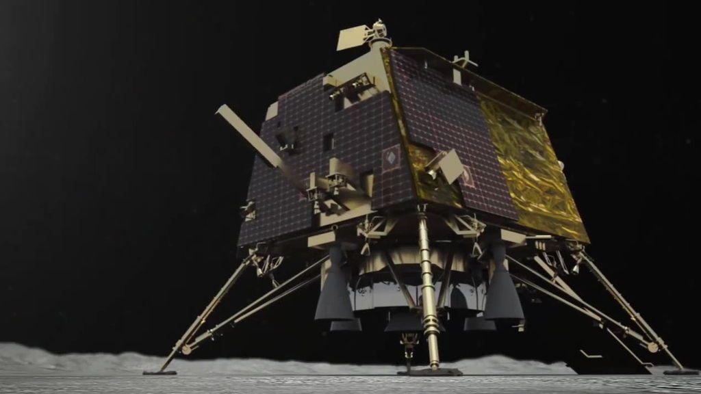 India localiza su vehículo de aterrizaje en la Luna pero no logra contactar con él