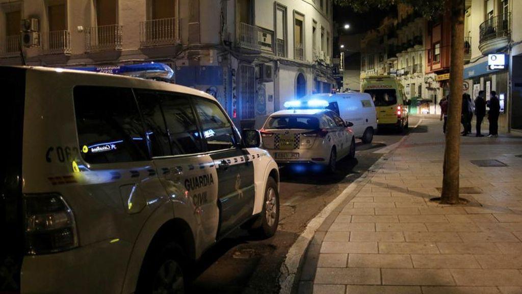 Heridas tres mujeres en un choque entre tres vehículos cerca de Badajoz