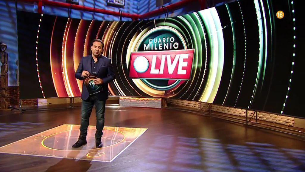 Iker Jiménez presentará 'Cuarto Milenio Live', muy pronto en Cuatro