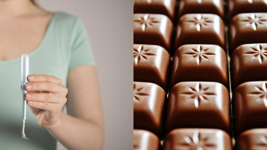 La 'amarga' confusión de una niña: trató de comerse un tampón pensando que era una barra de chocolate