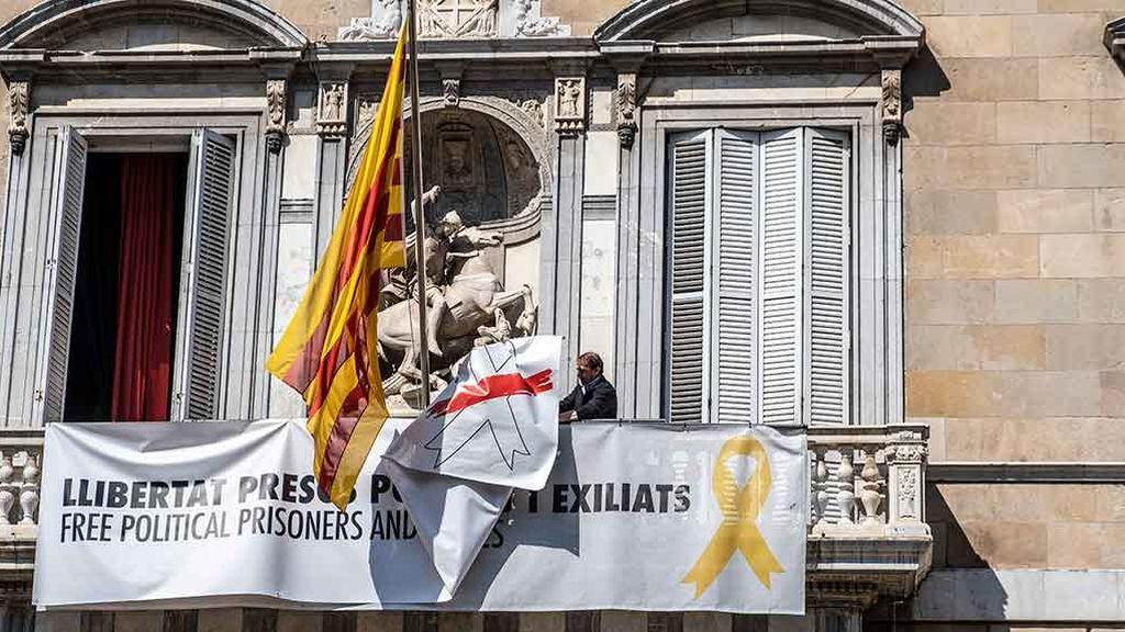 Torra amenaza con presentarse a la citación del TSJC por los lazos amarillos durante la campaña