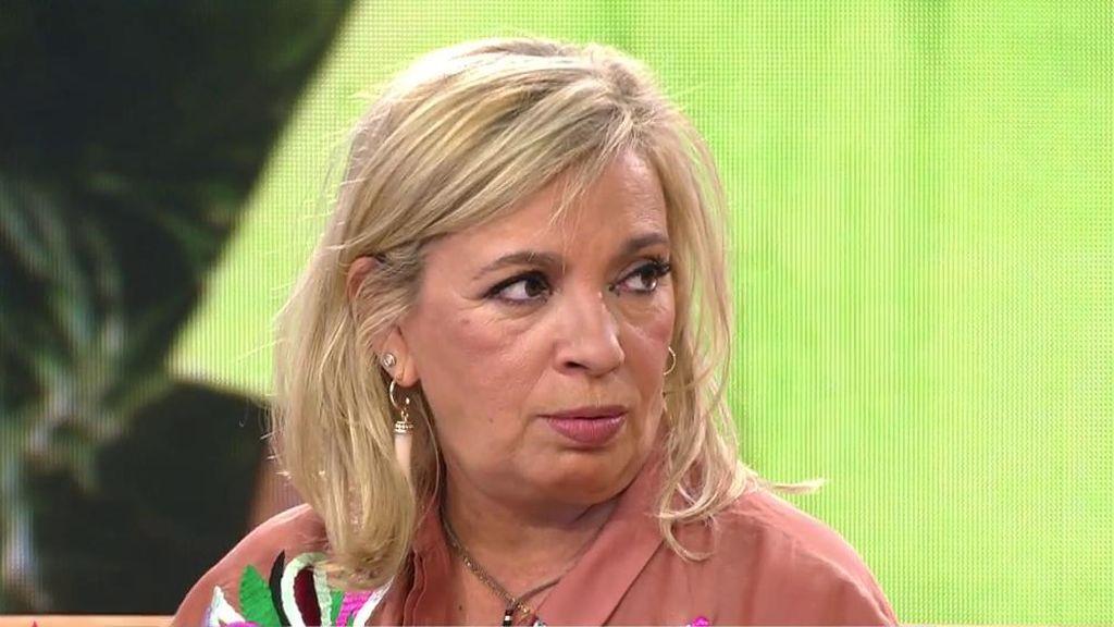 "Carmen Borrego responde al ataque de Víctor Sandoval: ""He visto a mi madre hecha polvo"""