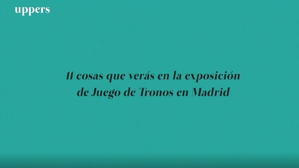 11 cosas que verás en la exposición de Juego de Tronos en Madrid