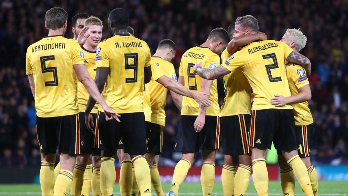 Bélgica arrolla a Escocia con un fantástico De Bruyne para seguir invicta (0-4)