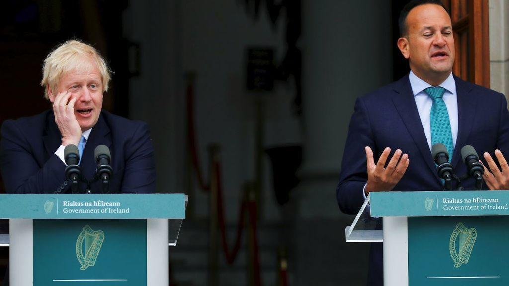 Irlanda no quiere un Brexit sin acuerdo y Johnson ve margen