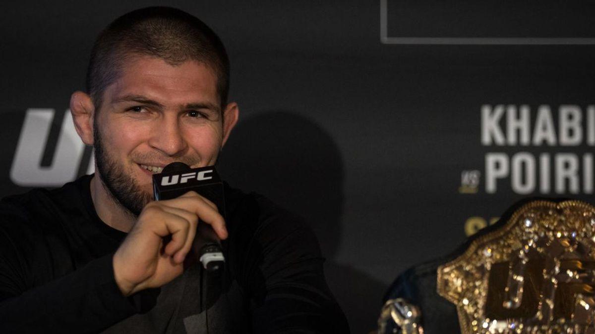 Khabib Nurmagomedov bate el récord de salario de la UFC: 8.400 euros por cada segundo