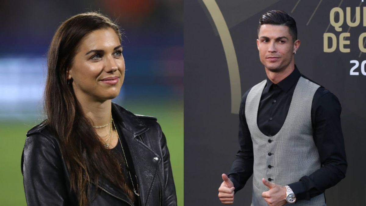 """Alex Morgan, sobre Cristiano Ronaldo y la exculpación de violación a Kathryn Mayorga: """"Al final el dinero lo esconde todo"""""""