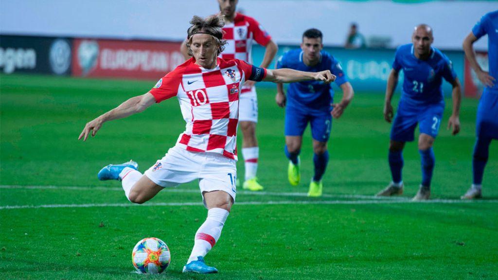 Croacia empata con Azerbaiyán (1-1) y tendrá que esperar una derrota de Hungría para ser primera