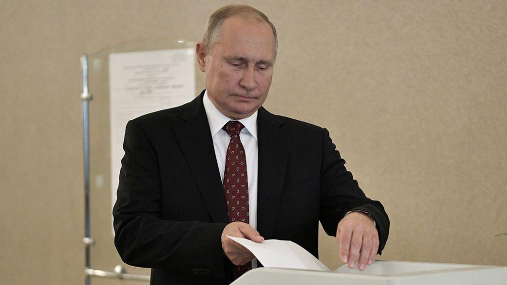 Revés para Putin en las elecciones municipales en Rusia