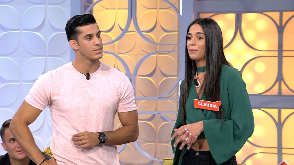 El debut de Claudia Martínez como pretendienta en 'MyH'