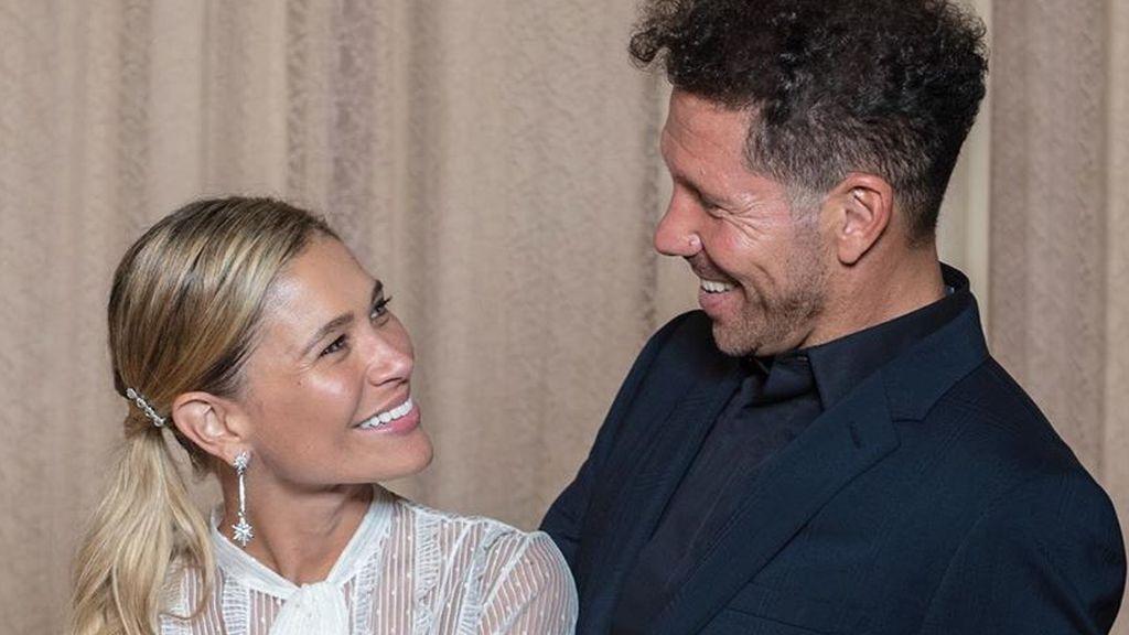 """El posado de la segunda boda de Diego Simeone y Carla Pereyra en Italia: """"No hay palabras que describan todo lo que vivimos"""""""