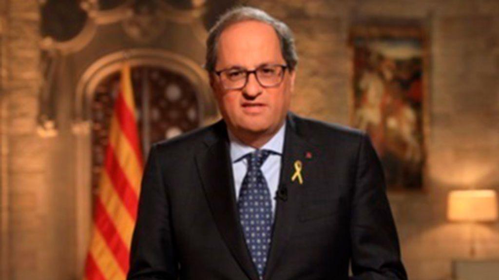 """Torra llama a la unidad de los catalanes frente """"un largo y penoso asedio"""""""