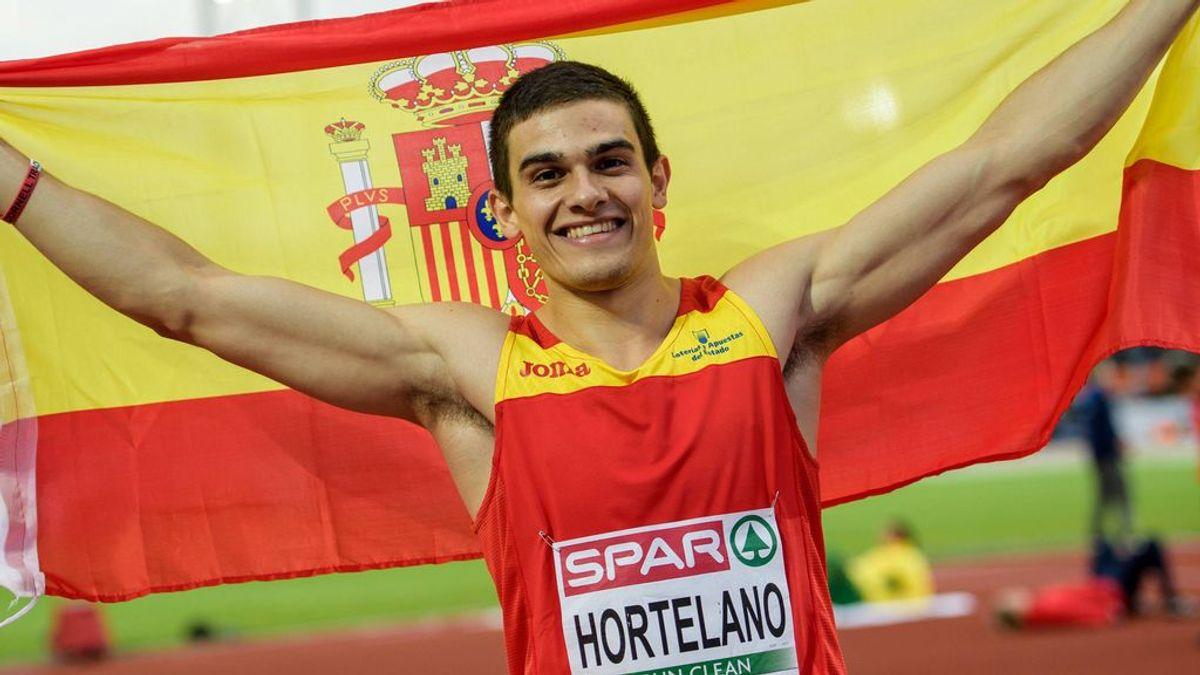 Bruno Hortelano no irá a los Mundiales de Doha por lesión e intentará estar para los Juegos Olímpicos
