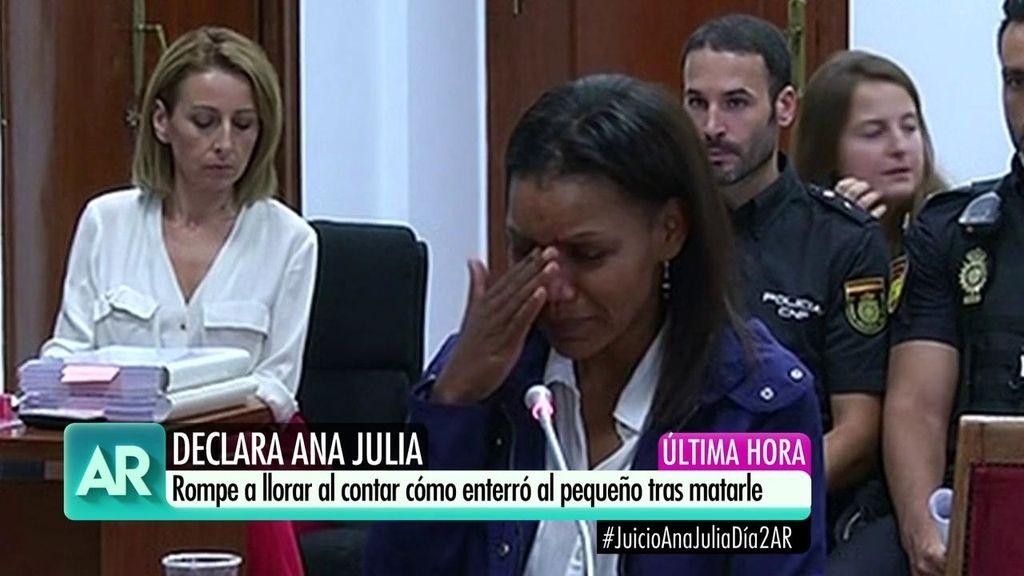 El lenguaje corporal de Ana Julia: los distintos semblantes en el juicio de la autora de la muerte de Gabriel