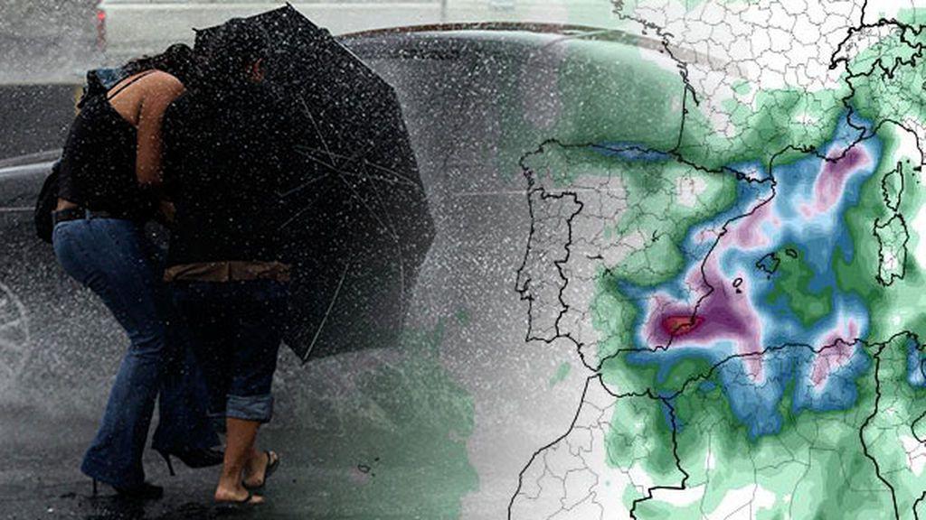 Tormentas y lluvias torrenciales: hasta cuándo estará la DANA en nuestro país