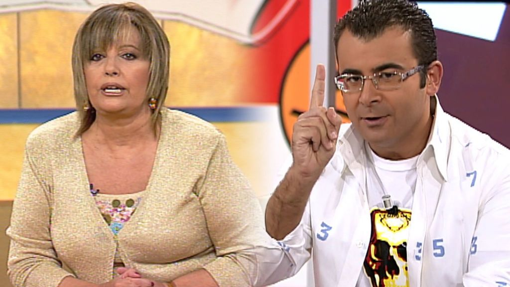 El primer pique de María Teresa Campos y Jorge Javier