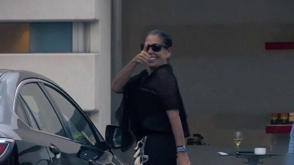 Isabel Pantoja llega a Madrid