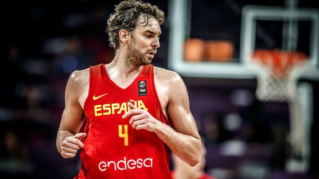 Pau Gasol celebra en redes sociales la clasificación directa de España a los Juegos Olímpicos de Tokio 2020