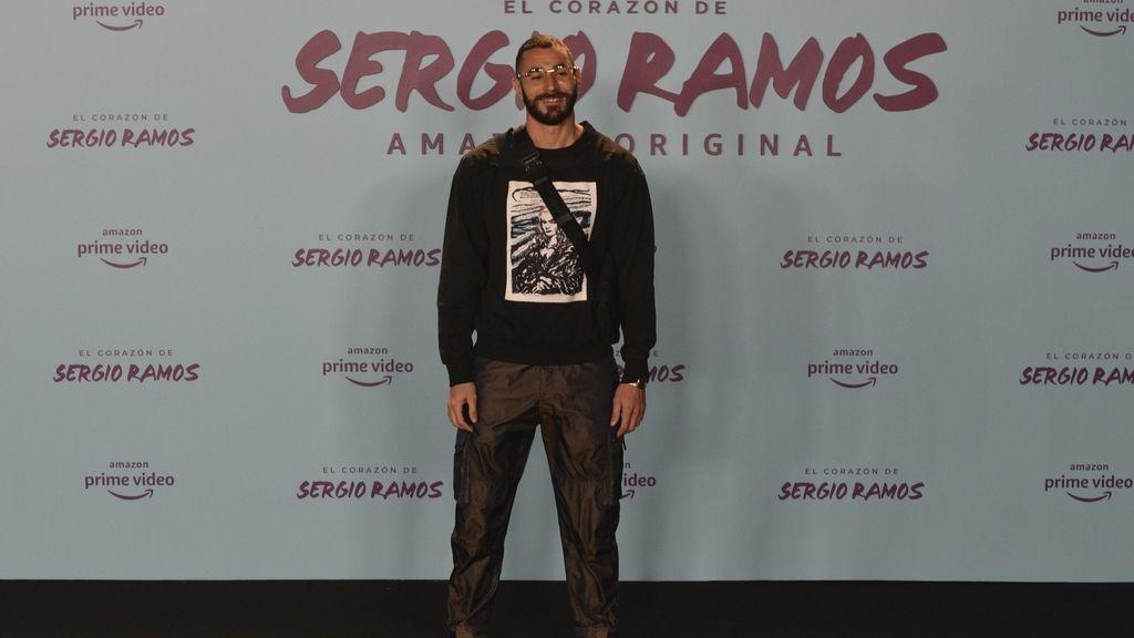Benzema, Kiko Rivera o : los VIPS que arropan a Sergio Ramos en la alfombra roja de su documental