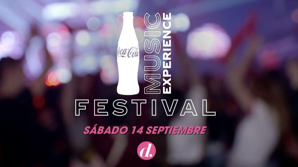 Divinity emitirá en directo la segunda cita del festival 'Coca-Cola Music Experience'