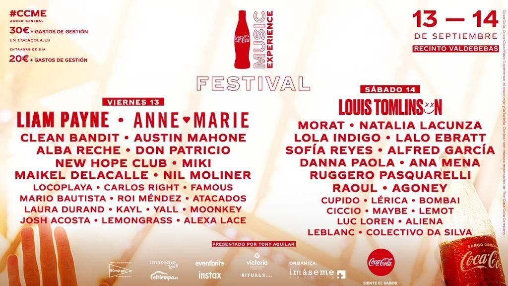 No estés triste si no puedes venir: Divinity emitirá la segunda jornada del 'Coca-Cola Music Experience' en directo