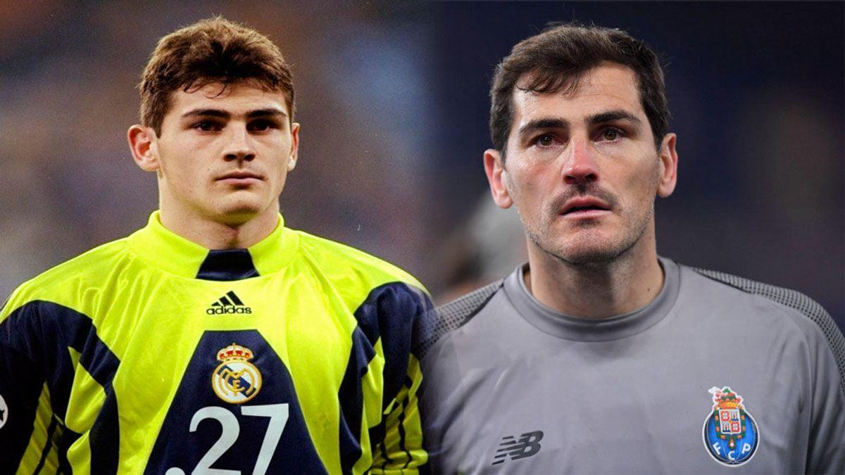 """El recuerdo de Casillas diez años después de su debut con el Real Madrid: """"Fueron muchos nervios y emociones"""""""