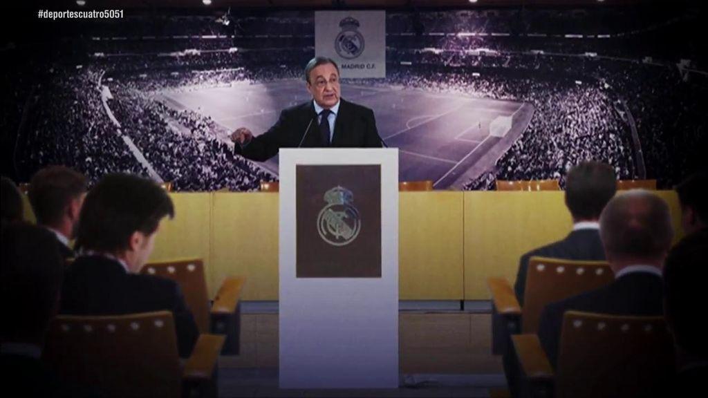 Florentino Pérez reconoce el interés del Real Madrid en Mbappé