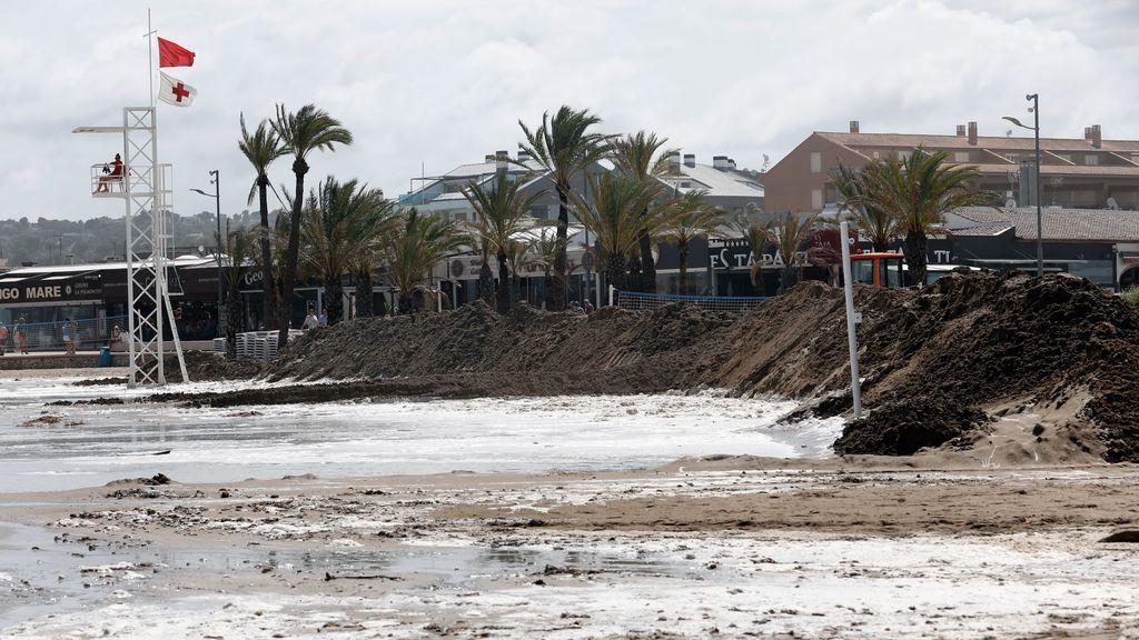 Alerta roja por DANA: Primer aviso del riesgo  de un Medicane, un ciclón mediterráneo, en nuestro país