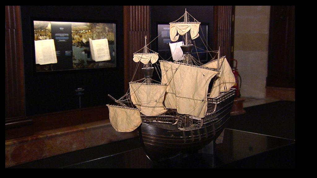Detalle de embarcación