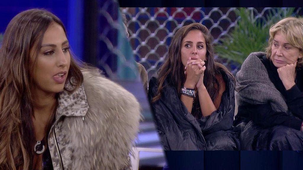 """Anabel Pantoja roba unas bragas a Noemi Salazar: """"Fue por supervivencia"""""""