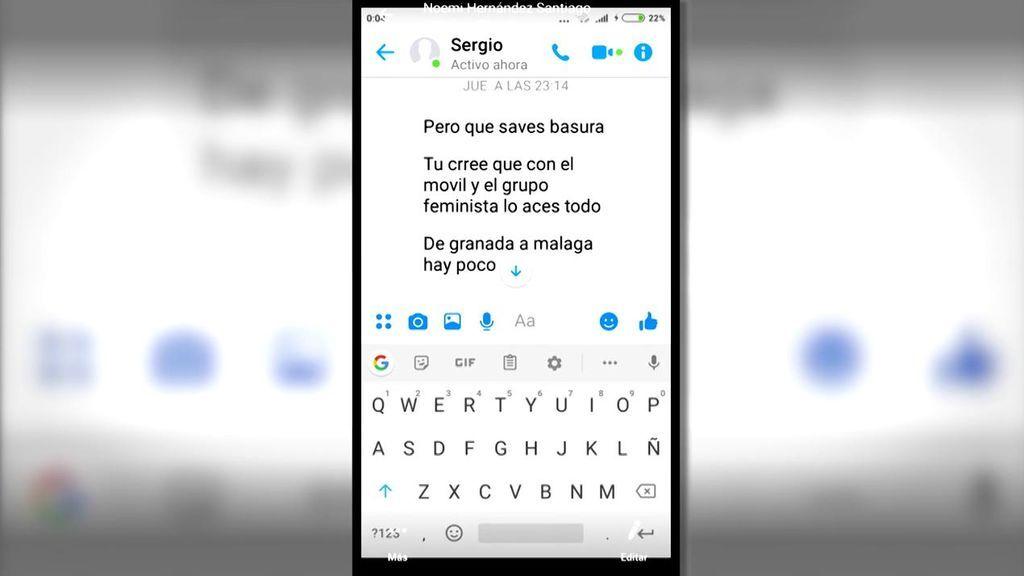"""""""Algún día contaré a mis nietos que hablé con un asesino"""": los mensajes entre las amigas de Dana y su novio Sergio"""