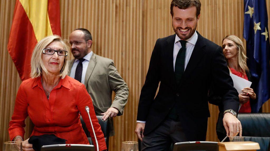 El PP le tira los tejos a Rosa Díez para que se una a su proyecto de España Suma