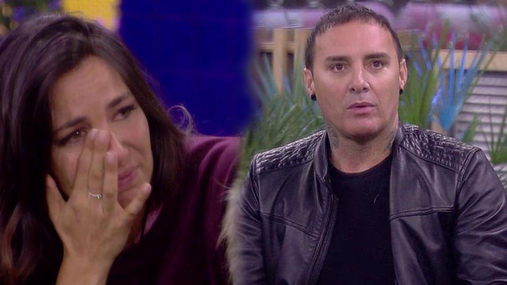 """Dinio acusa a Irene de ser """"una actriz"""" y ella acaba llorando: """"No me esperaba esto de ti"""""""