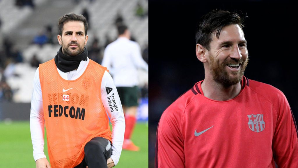 """Messi y Fábregas 'se pican' con la final entre España y Argentina: """"Os vamos a ganar"""""""