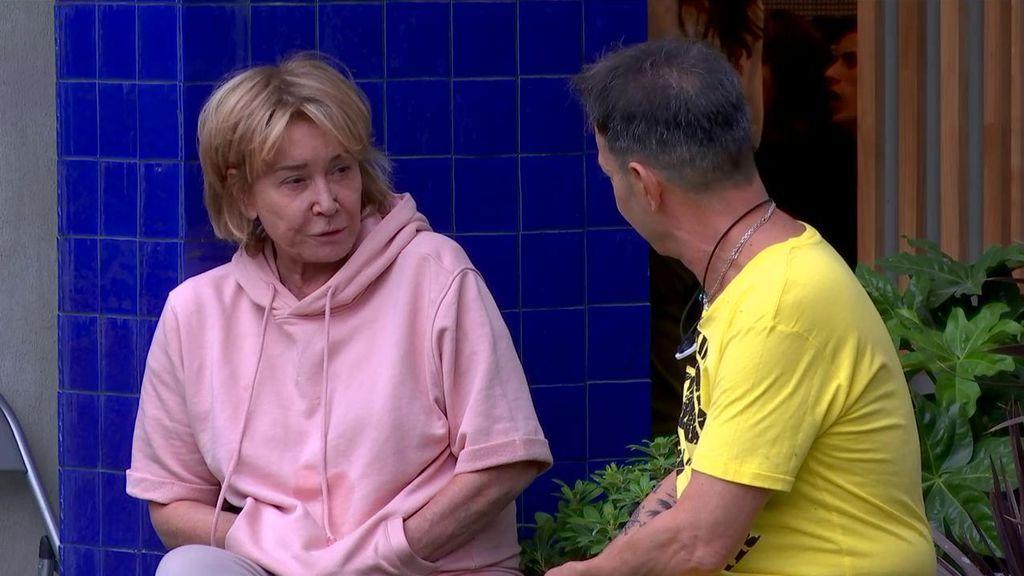 """Mila Ximénez señala a Hugo Castejón como su mayor enemigo en la casa: """"Es un trepa"""""""