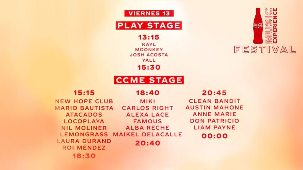 Horarios e información útil del Festival CCME: la guía definitiva para no volverte loco este viernes