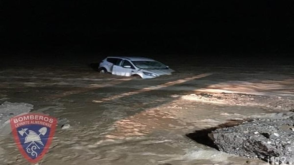 La gota fría se cobra en Almería su tercera víctima mortal: un hombre muere ahogado en su vehículo