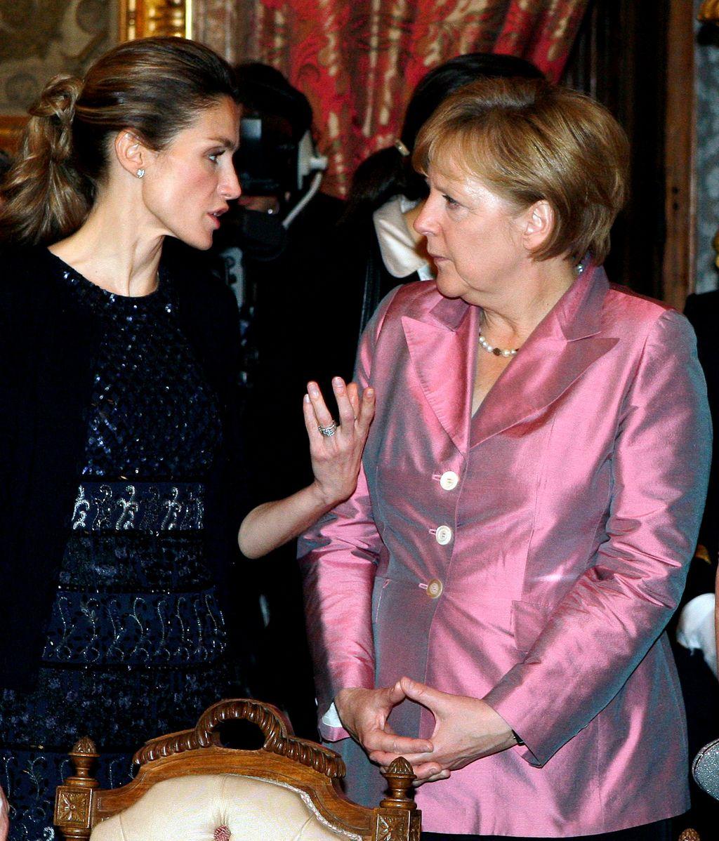 Letizia, una reina de 47 años fabricando su corona