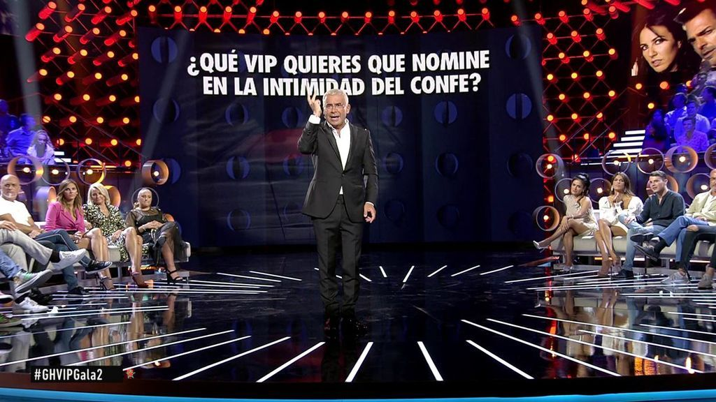 La audiencia, a través de la web y la app, decide que Antonio David, Noemí, El Cejas, Adara y Mila nominen en el 'confe'