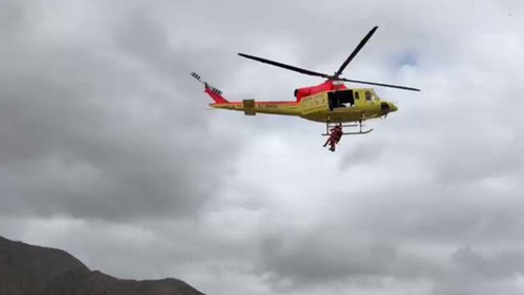 Tres embarazadas se ponen de parto y son rescatadas in extremis en helicóptero en Vega Baja