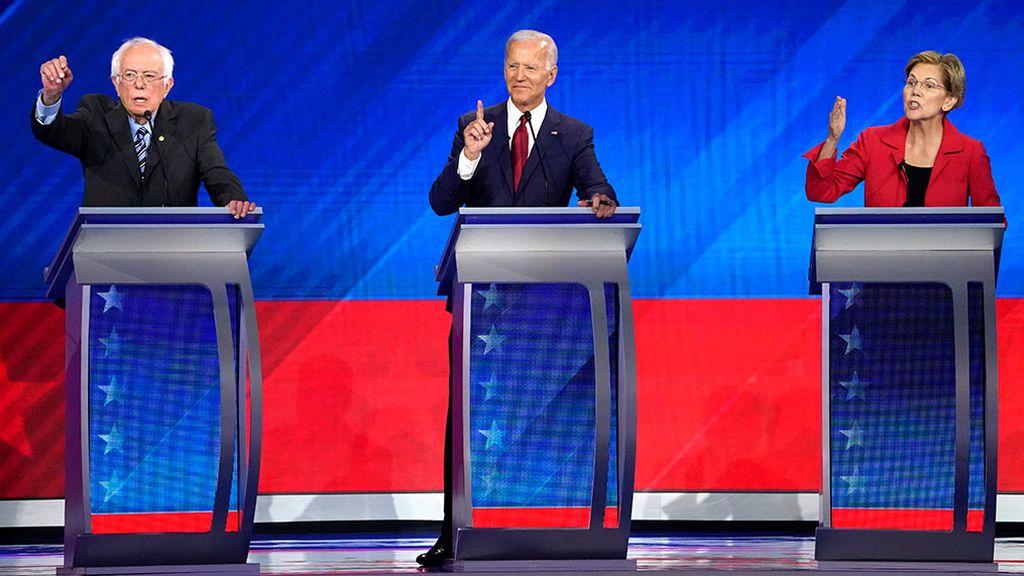 Las primarias demócratas en EEUU ya son cosa de tres