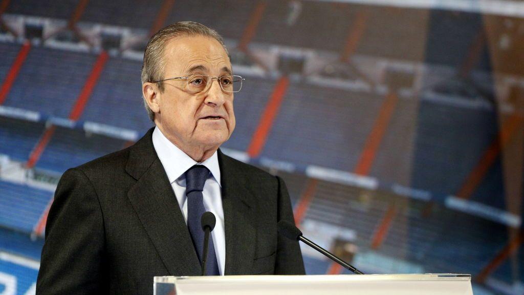 Florentino Pérez quiere que el Real Madrid de baloncesto juegue en la NBA