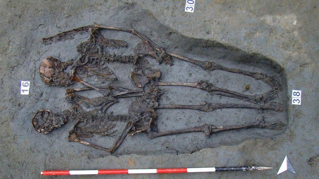 Los 'Amantes de Módena' eran dos hombres, según análisis científicos
