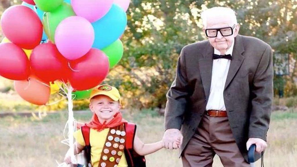 Un niño de 5 años demuestra que el abuelo de 'Up' es real