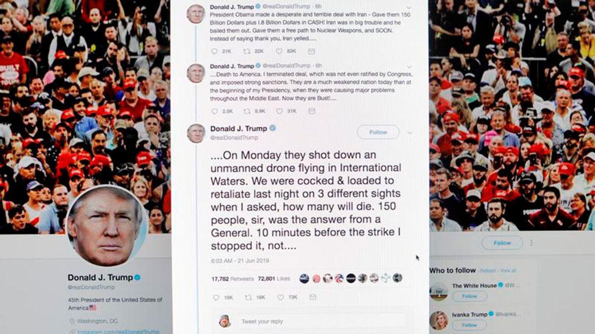 La bolsa depende de los tuits de Trump (y la estadística lo confirma)