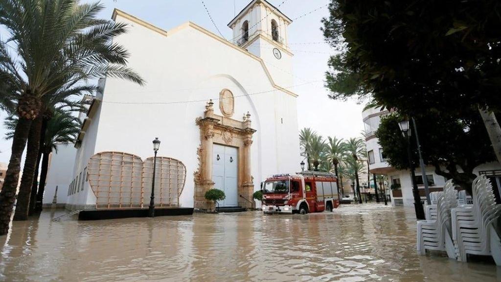 Efectos de la DANA en Dolores (Alicante)