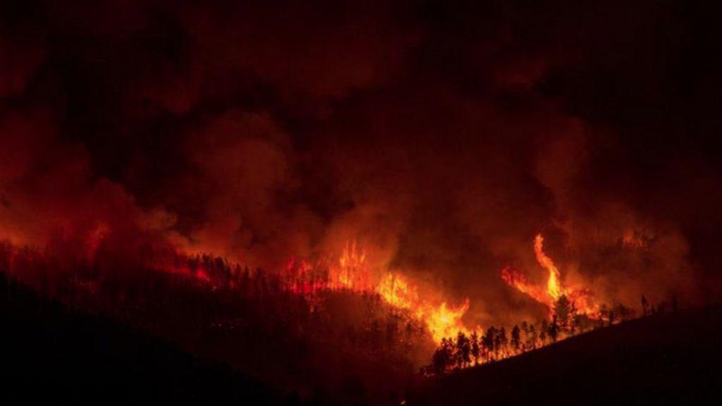 Arde Galicia: varios incendios forestales siembran el caos en Lugo y Orense, con 600 hectáreas calcinadas