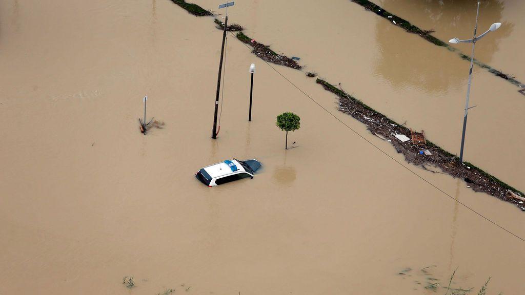 Orihuela, convertida en Venecia, es la viva imagen del desastre