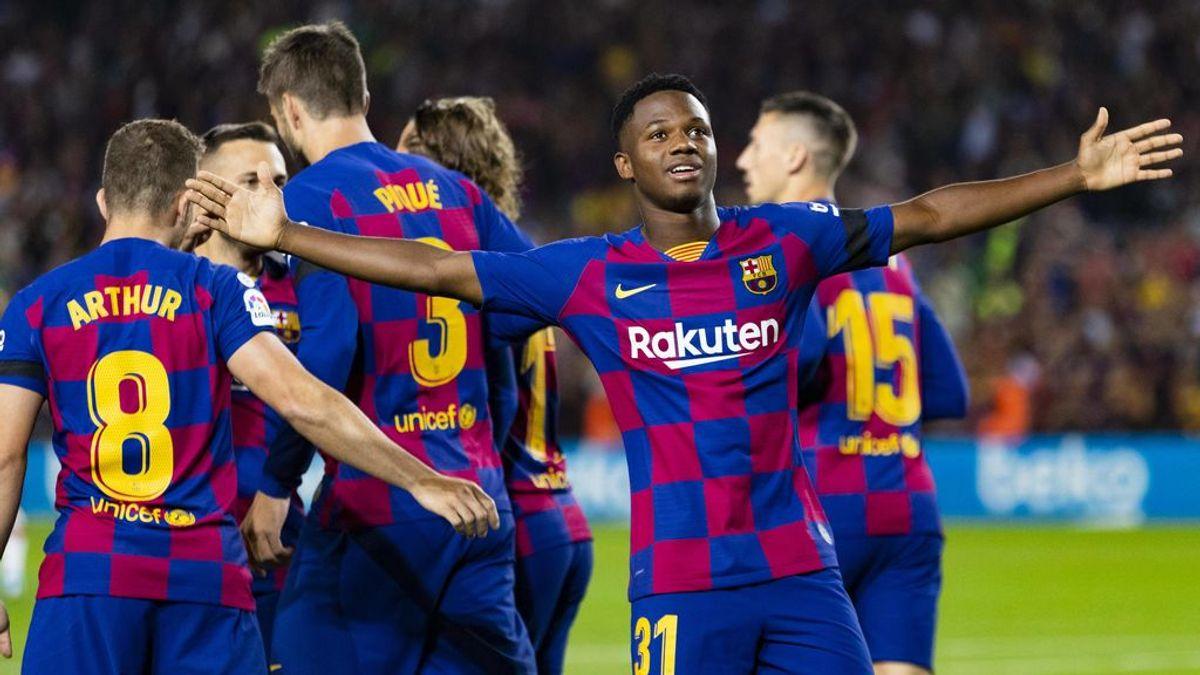 El Barcelona da un golpe sobre la mesa ante el Valencia con un Ansu Fati espectacular (5-1)